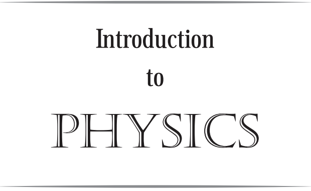 Introduction to physics ITP01
