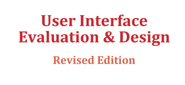 User Interface Evaluation & Design UIEND1